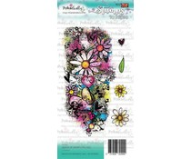 Polkadoodles Queen of Hearts Collage Clear Stamps (PD7929)