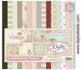 DayKa Trade Vintage 12x12 Inch Paper Pack (SCP-3003)