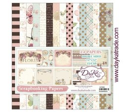 DayKa Trade Flores 12x12 Inch Paper Pack (SCP-3004)