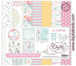 DayKa Trade Voy A Ser Mama 12x12 Inch Paper Pack (SCP-3017)