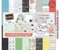 DayKa Trade School 12x12 Inch Paper Pack (SCP-3025)