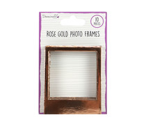 Dovecraft Essentials Photo Frames Rose Gold (DCBS238)