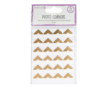 Dovecraft Essentials Photo Corners Gold (DCBS239)