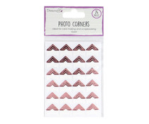 Dovecraft Essentials Photo Corners Rose Gold (DCBS241)