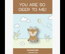 Lawn Fawn Hello, Deer Enamel Pin (LF1805)