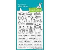 Lawn Fawn Yeti or Not Clear Stamps (LF2027)
