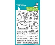 Lawn Fawn Ho-Ho-Holidays Clear Stamps (LF2029)