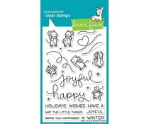 Lawn Fawn Mice on Ice Clear Stamps (LF2031)
