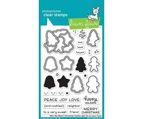 Lawn Fawn How You Bean? Christmas Cookie Add-on Clear Stamps (LF2033)