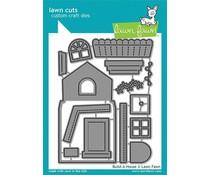 Lawn Fawn Build-a-House Dies (LF2046)