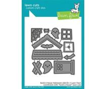 Lawn Fawn Build-a-House Halloween Add-on Dies (LF2047)