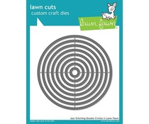 Lawn Fawn Just Stitching Double Circles Dies (LF2066)