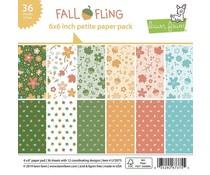 Lawn Fawn Fall Fling Petite 6x6 Inch Paper Pack (LF2075)
