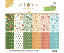 Lawn Fawn Fall Fling 12x12 Inch Collection Pack (LF2076)