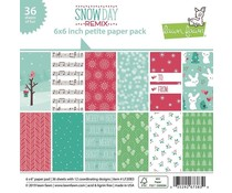 Lawn Fawn Snow Day Remix Petite 6x6 Inch Paper Pack (LF2083)
