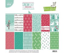 Lawn Fawn Snow Day Remix 12x12 Inch Collection Pack (LF2084)