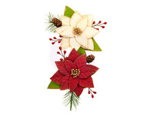 Prima Marketing Christmas In The Country Flowers Sleigh Ride (642532)