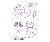 Prima Marketing Snooty Cats Cling Stamps (912970)