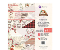 Prima Marketing Christmas In The Country 12x12 Inch Paper Pad (995270)
