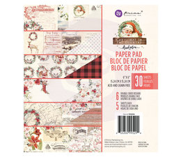 Prima Marketing Christmas In The Country 6x6 Inch Paper Pad (995294)