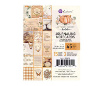 Prima Marketing Autumn Sunset 3x4 Inch Journaling Cards (995515)
