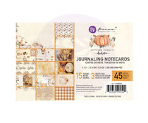 Prima Marketing Autumn Sunset 4x6 Inch Journaling Cards (995522)