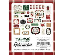 Echo Park A Cozy Christmas Ephemera (ACC189024)