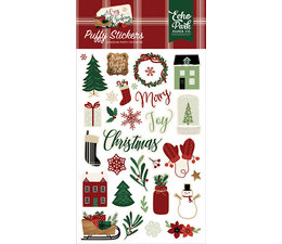 Echo Park A Cozy Christmas Puffy Stickers (ACC189066)