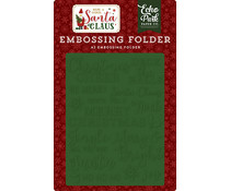 Echo Park Embossing Folder Christmas Cheer (HCSC188031)