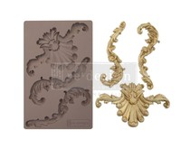 Re-Design with Prima Greco Crest 5x8 Inch Mould (641078)