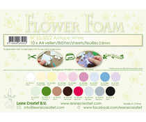 Leane Creatief Flower Foam Sheets A4 Antique White (25.5022)