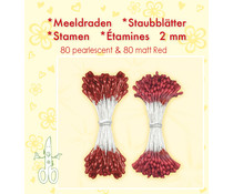 Leane Creatief Stamens Red (26.4865)