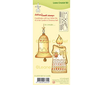 Leane Creatief Bell & Candle Clear Stamp (55.6050)