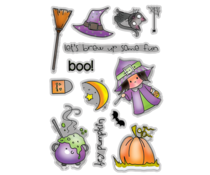 Polkadoodles Hey Pumpkin Clear Stamps (PD7456)