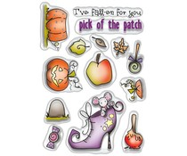 Polkadoodles Pick of the Patch Clear Stamps (PD7458)