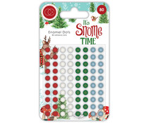 Craft Consortium It's Snome Time Enamel Dots (CCADOT003)