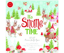 Craft Consortium It's Snome Time 12x12 Inch Paper Pad (CCPPAD011)