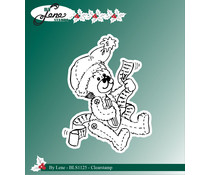By Lene Christmas Teddy Bear Clear Stamp (BLS1125)