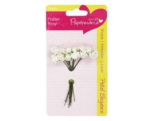 Papermania Petal Posy White Rose (PMA 368304)