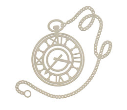 Couture Creations Pocket Watch Chipboard (CO726867)