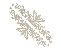 Couture Creations Gentleman's Borders Chipboard Set (CO726868)