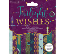 Dovecraft Twilight Wishes 6x6 Inch Paper Pad (DCPAP150X19)