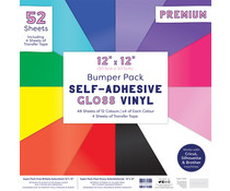 First Edition Self Adhesive 12x12 Inch Gloss Vinyl (FEVYN002)