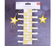 Simply Creative Christmas Card Hanging Kit Stars (1.2m) (SCWDN024X19)