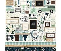 Carta Bella Home Again 12x12 Inch Element Sticker (CBHOA109014)