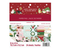 Craft Smith Happy Pawlidays 6x6 Inch Paper Pad (MSE4869)