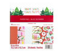 Craft Smith Bright Spirits 6x6 Inch Paper Pad (MSE4895)