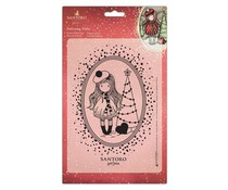 Gorjuss Embossing Folder A5 You Turn My World Upside Down (GOR 515001)