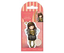 Gorjuss Collectable Mini Rubber Stamp No.66 Bee-Loved (GOR 907331)