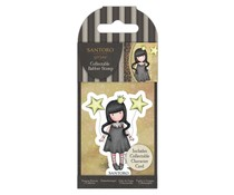 Gorjuss Collectable Mini Rubber Stamp No.71 My Own Universe (GOR 907336)